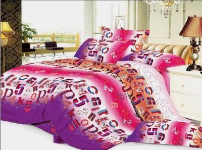 Shopcrats Polycotton Abstract Single Bedsheet