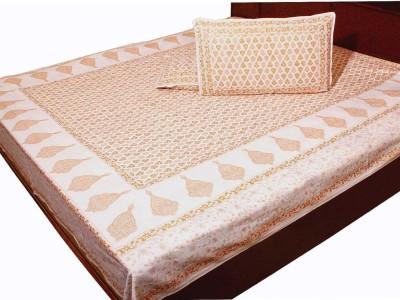 Kiran Udyog Cotton Printed Double Bedsheet