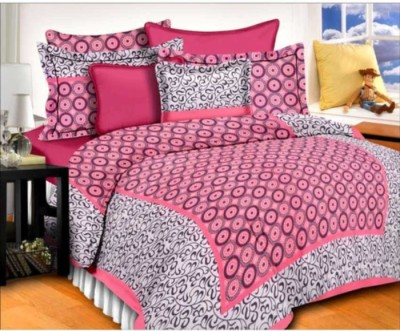 AS42 Cotton Paisley Double Bedsheet