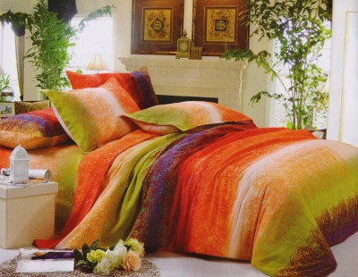 Gran Cotton Abstract Double Bedsheet