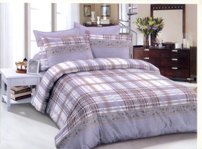 Senorita Cotton Checkered Double Bedsheet
