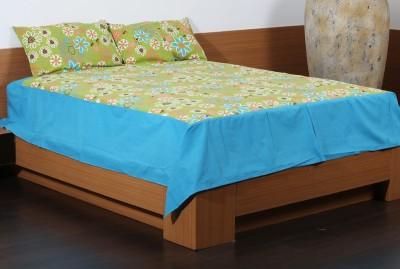Flora Cotton Floral Double Bedsheet