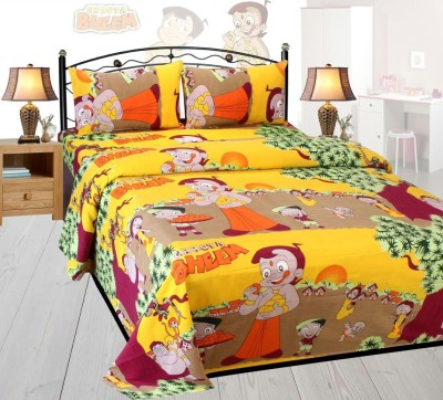 MAD DECOR HOUSE Polycotton Printed Double Bedsheet