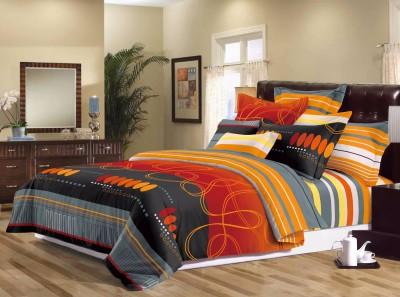 Sassoon Polyester Geometric Double Bedsheet