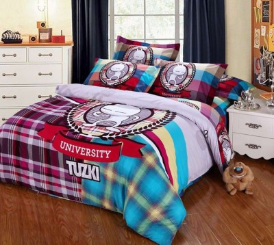 Satviham Cotton Printed Double Bedsheet