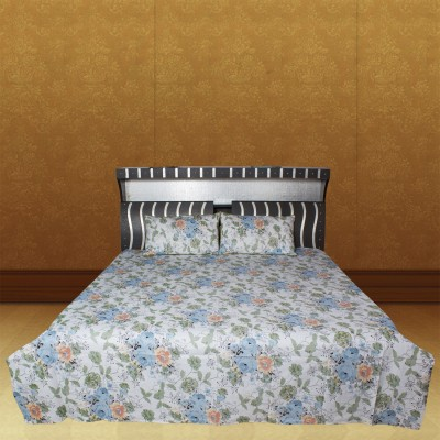 Bhavy Cotton Floral Double Bedsheet