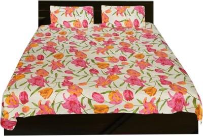 El Sandalo Cotton Printed Double Bedsheet