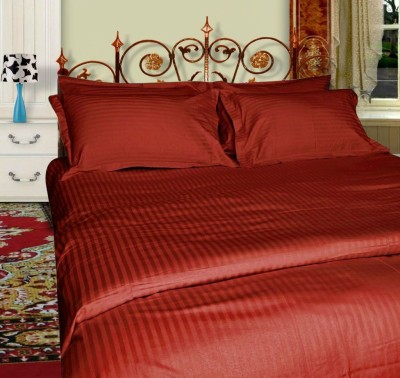 Just Linen Polyester Abstract Single Bedsheet