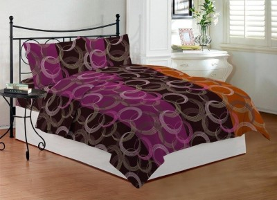Bombay Dyeing Cotton Abstract Queen sized Double Bedsheet