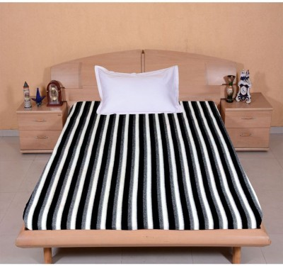 Casa Confort Cotton Striped Single Bedsheet