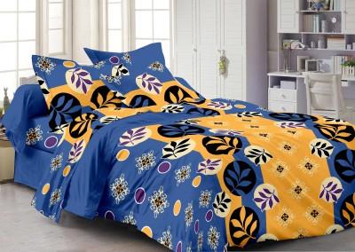 Queen Cotton Cotton Floral Double Bedsheet