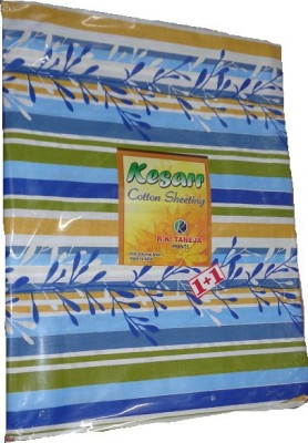 RK Cotton Striped Single Bedsheet
