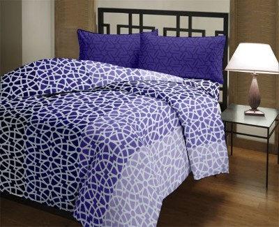 Trident Cotton Printed Queen sized Double Bedsheet