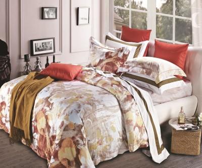 Kiaana Usa Cotton Abstract Double Bedsheet