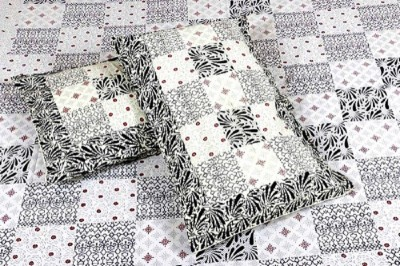 Haat Bazar Cotton Printed King sized Double Bedsheet
