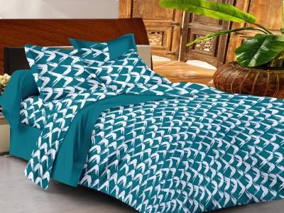 Casa Basics Cotton Printed Queen sized Double Bedsheet