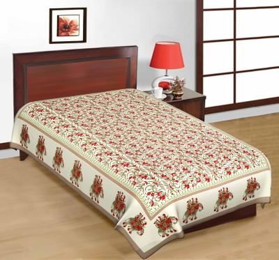 Shop Rajasthan Cotton Animal Single Bedsheet