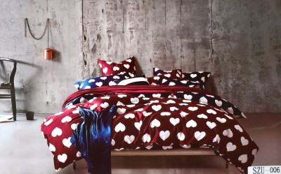 Solitaire Cotton Printed King sized Double Bedsheet