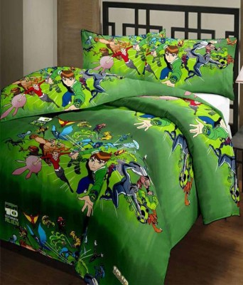 ComfortHome Polyester Cartoon Single Bedsheet