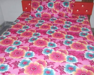 Beguile Cotton Floral Double Bedsheet