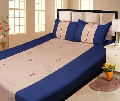 Lullabies Cotton Printed Double Bedsheet