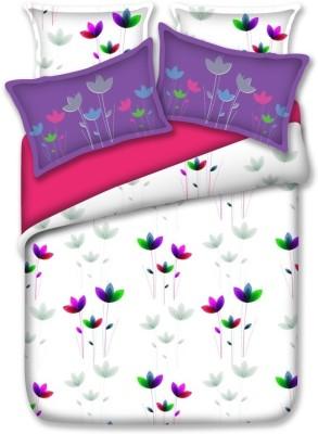 Birla Century Cotton Floral Double Bedsheet