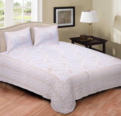 RusticIndia Cotton Animal King sized Double Bedsheet