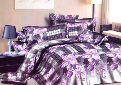 Flamingo Cotton Cartoon Double Bedsheet