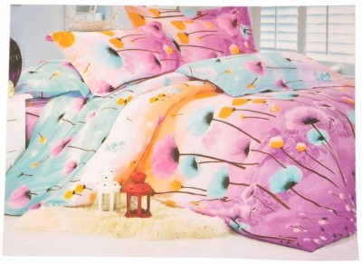 LaBella Cotton Floral King sized Double Bedsheet