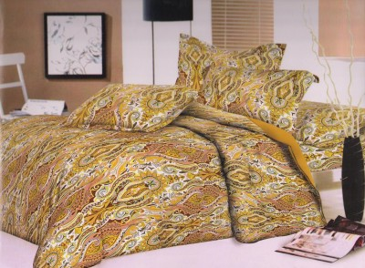 Ruhi Home Furnishing Cotton Floral Double Bedsheet