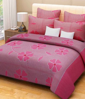 The American Line House Cotton Printed Double Bedsheet