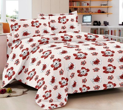 Trance Cotton Floral Queen sized Double Bedsheet