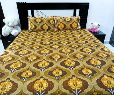 Kalakriti Creations Cotton Printed Double Bedsheet