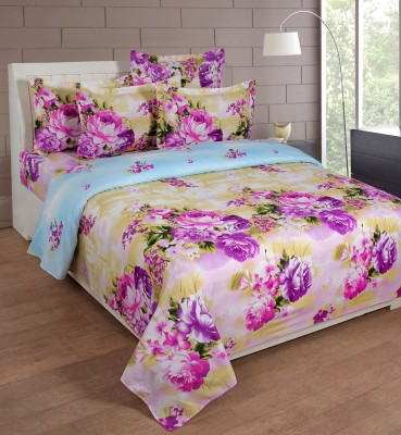 FLINT by Roschelle Polycotton Floral Double Bedsheet