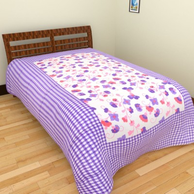 Aone Collection Cotton Floral Single Bedsheet
