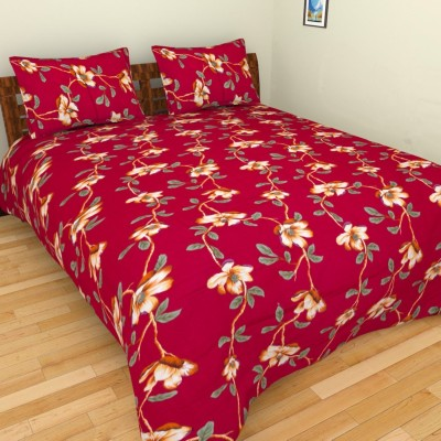 Spangle Cotton Printed King sized Double Bedsheet