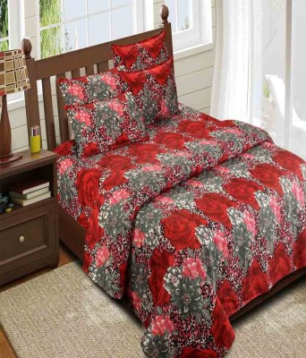 ComfortHome Cotton Printed Single Bedsheet
