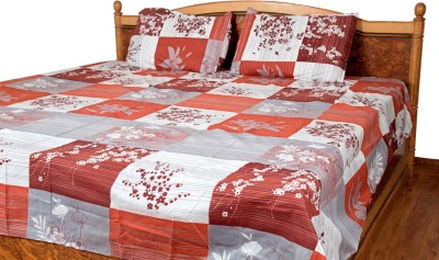 Siyas Collection Polycotton Checkered Double Bedsheet