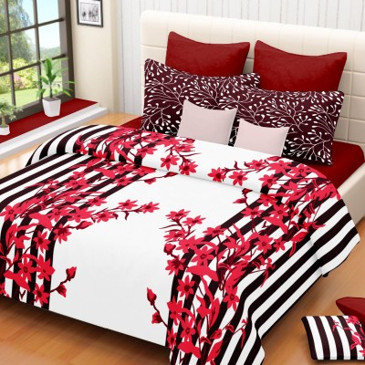 Classic Furnishing Plus Cotton Printed Double Bedsheet