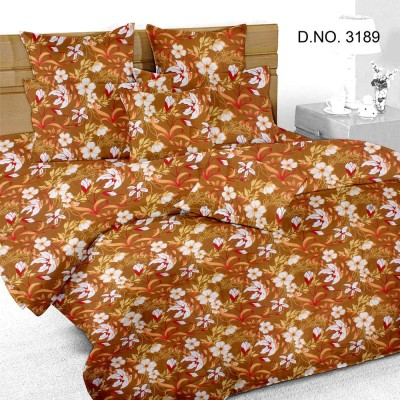 BS3189 Cotton Printed Double Bedsheet