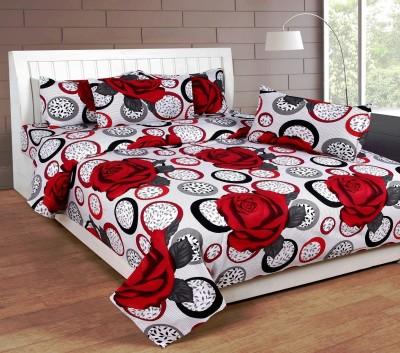 Sparklings Cotton Checkered Double Bedsheet
