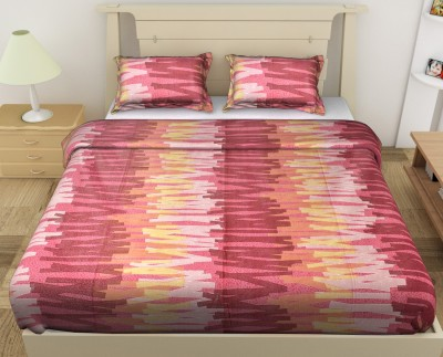 Jaipur Fabric Cotton Abstract Double Bedsheet