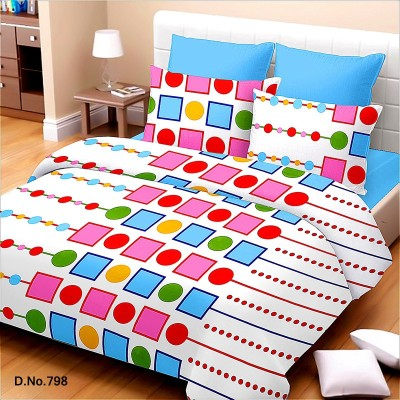 Trance Geometric Queen Quilts & Comforters Blue