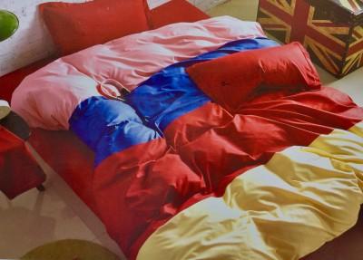Sumthing Else Cotton Plain Double Bedsheet