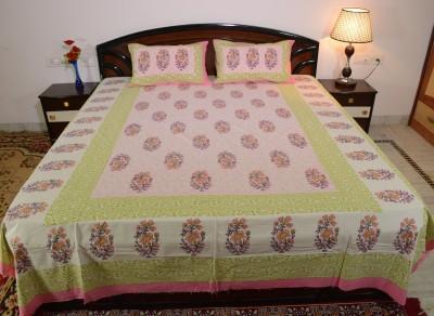 ROYAL RAJASTHAN Cotton Printed Double Bedsheet