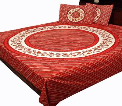 SWEET DREAM Cotton Floral Double Bedsheet