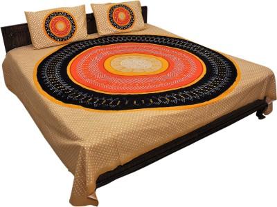 Jaipuriyaa Cotton Printed Double Bedsheet