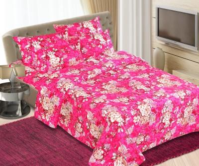 Maxx Home Cotton Floral Double Bedsheet