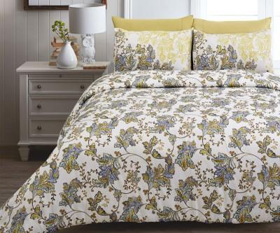 Spread Cotton Floral Double Bedsheet