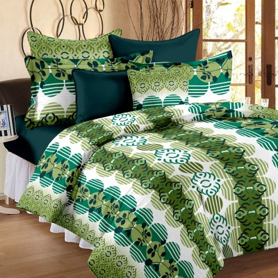 Happy Life Cotton Printed Double Bedsheet